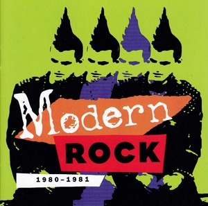 Modern Rock: 1980-1981 album cover