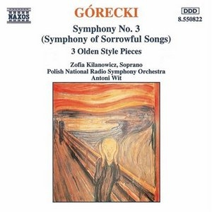 Gorecki: Symphony No.3 album cover