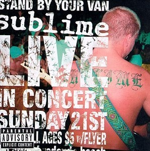 Stand By Your Van Live album cover