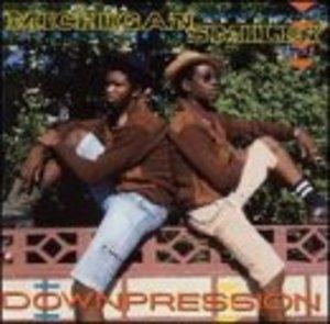 Downpression album cover