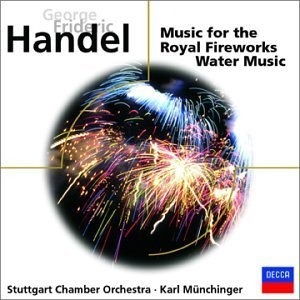 Handel: Music For The Royal Fireworks, Water Music album cover
