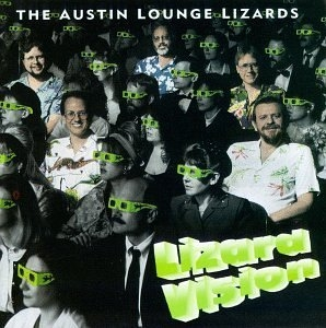 Lizard Vision album cover