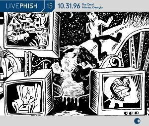 Live Phish Vol.15 album cover