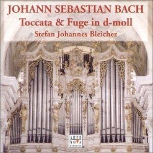 J.S. Bach: Organ Works album cover