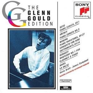 Glenn Gould Edition: Berg, Krenek, Webern, Debussy & Ravel album cover