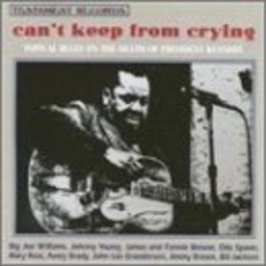Can't Keep From Crying: Topical Blues On The Death Of President Kennedy album cover