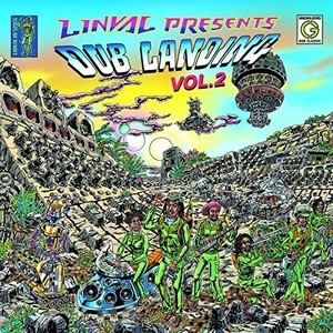 Linval Presents: Dub Landing, Vol. 2 album cover