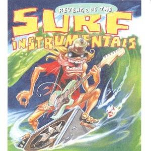 Revenge Of The Surf Instrumentals album cover
