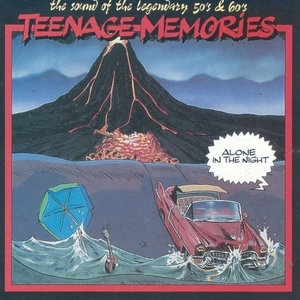 Teenage Memories: Alone In The Night album cover