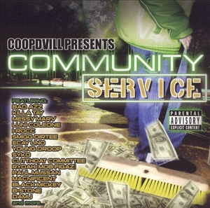 Coopdvill Presents: Community Service album cover