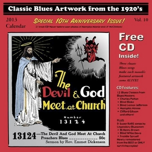 Classic Blues Artwork From The 1920s, Vol.10 album cover