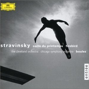 Stravinsky: The Rite Of Spring, The Firebird album cover