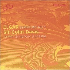 Elgar: Symphony No.1 album cover