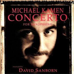 Kamen: Concerto For Saxophone album cover