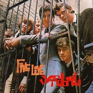 Five Live Yardbirds (Columbia) album cover