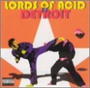 Lords Of Acid Vs Detroit album cover