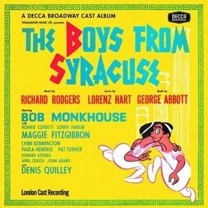 The Boys from Syracuse (1963 London Cast)  album cover