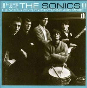 Here Are The Sonics album cover