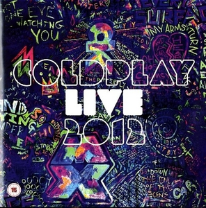 Coldplay Live: 2012 album cover