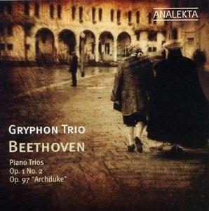 Beethoven: Piano Trio Op. 1 No. 2, Piano Trio Op. 97 album cover