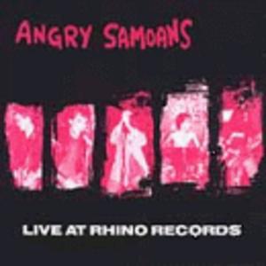 Live At Rhino Records album cover