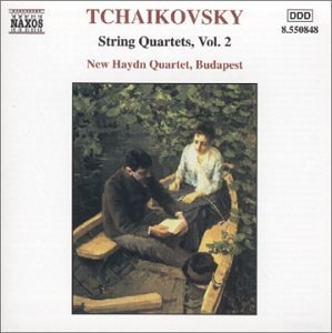 Tchaikovsky: String Quartets Vol.2 album cover
