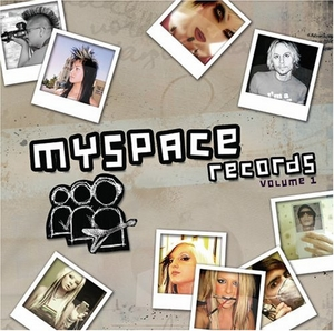 MySpace Records Volume 1 album cover