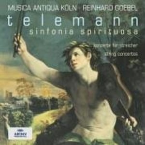 Telemann-String Concertos II album cover
