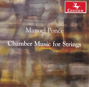Ponce: Chamber Music For Strings album cover