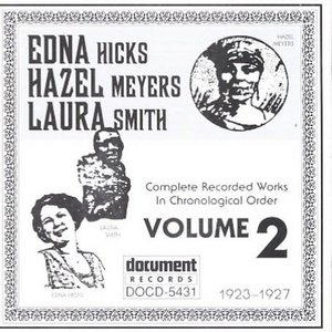 Hicks Meyers And Smith Complete Recorded Works-Vol.2 (1923-1927) album cover