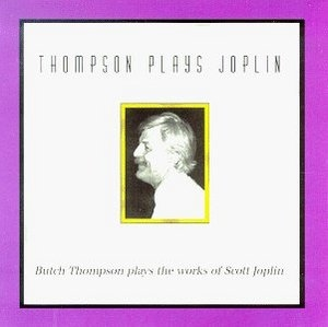 Thompson Plays Joplin album cover