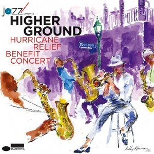 Higher Ground Hurricane Benefit Relief Concert album cover