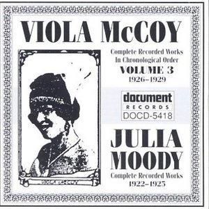 Viola McCoy (1926-1929) And Julia Moody (1922-1925) album cover