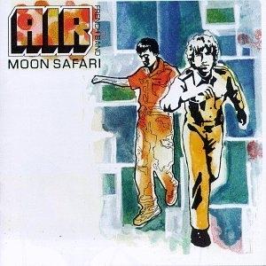 Moon Safari album cover