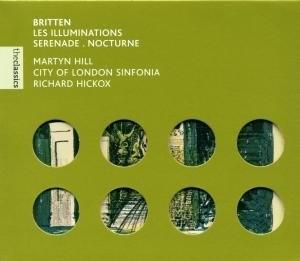 Britten: Les Illuminations album cover