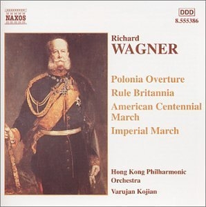 Wagner: Marches & Overtures album cover