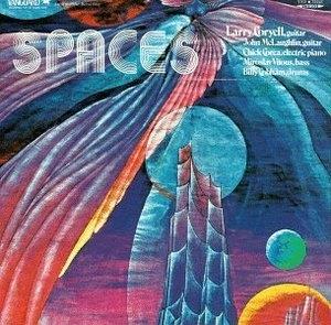 Spaces album cover