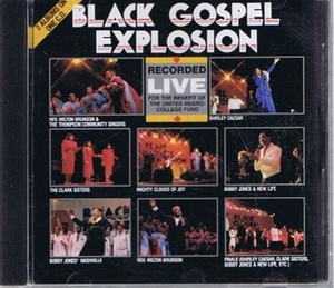 Black Gospel Explosion album cover