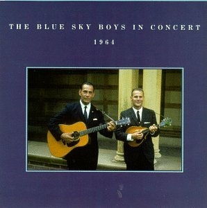 The Blue Sky Boys In Concert 1964 album cover