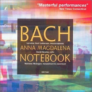 JS Bach: The Notebook Of Anna Magdalena Bach album cover