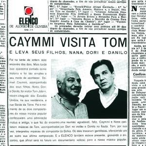 Caymmi Visita Tom album cover