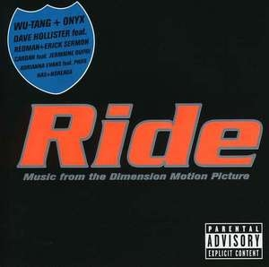 Ride: Music from the Dimension Motion Picture album cover