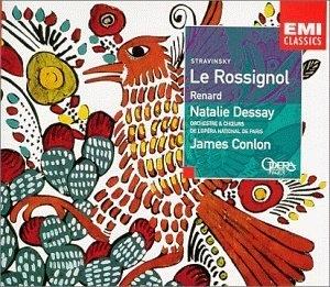 Stravinsky: Le Rossignol, Renard album cover