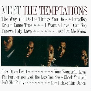 Meet The Temptations album cover