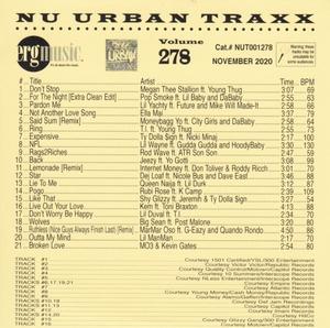 ERG Music: Nu Urban Traxx, Vol. 278 (Nov... album cover
