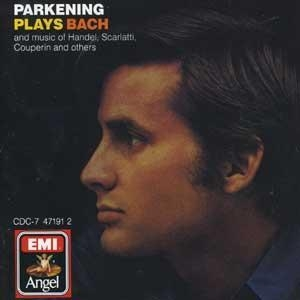 Parkening Plays Bach album cover