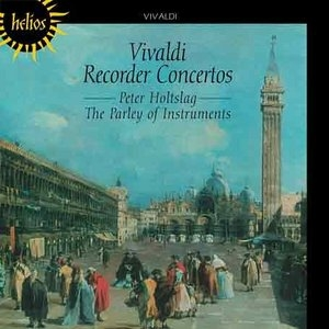 Vivaldi: Recorder Concertos album cover