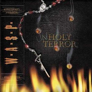 Unholy Terror album cover