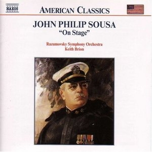 Sousa: 'On Stage, ' Vol.1 album cover