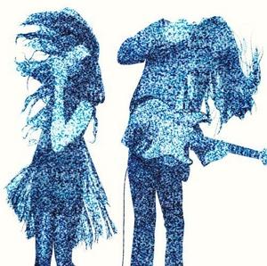 Static album cover